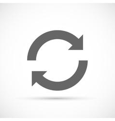Rotation arrows Icon vector image vector image