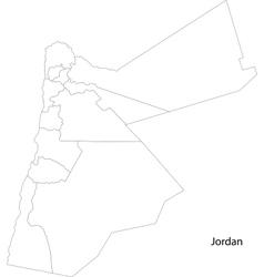 Contour Jordan map vector