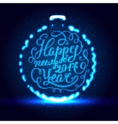 Happy New Year EPS 10 Holiday vector image