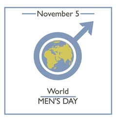 Men Day vector image