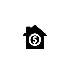money template solid icon isolated vector image