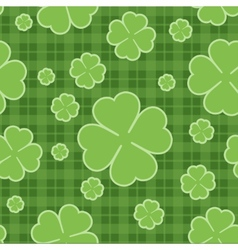 seamless pattern st patrick day vector image