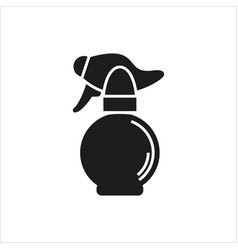 Spray bottle simple icon on white background vector
