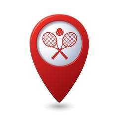 tennis2 REDpointer vector image