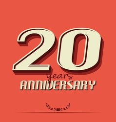 10 year an4 vector image vector image