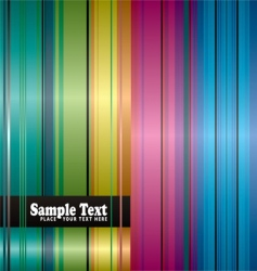 rainbow space background vector image vector image