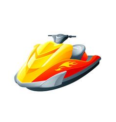 sport motorboat vector image vector image