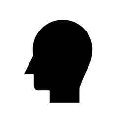 man head icon sign o vector image vector image