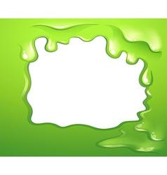 A green border design vector