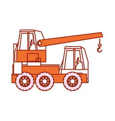 Cane truck icon vector