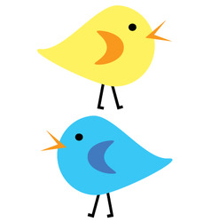 Chicks vector