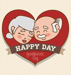 Grandparents design vector image