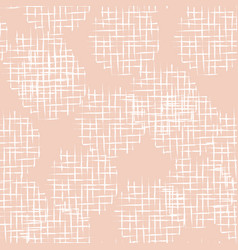 handdrawn scribble grid textured circles seamless vector image