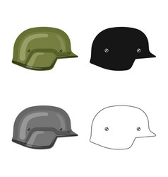Isolated object of weapon and gun icon collection vector