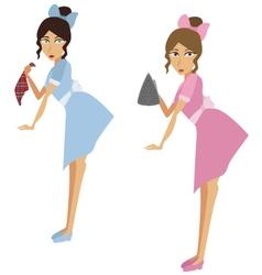 Maids vector