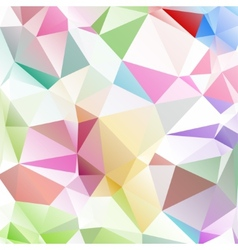 Multicolored background polygon vector