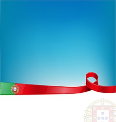 portugal background vector image