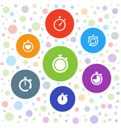 Quick icons vector