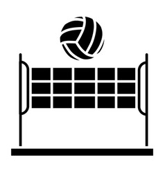 Volleyball - summer sport icon vector