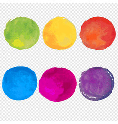 Watercolor paint set vector