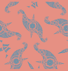 abstract oriental pattern vector image