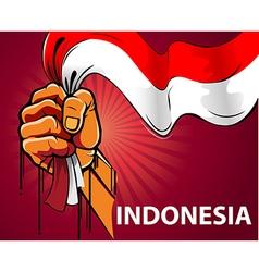 Spirit of Indonesia vector image