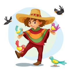 Mexican vector image vector image
