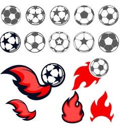 footbal vector image