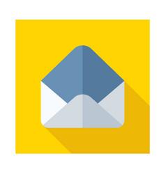 open envelope icon vector image vector image