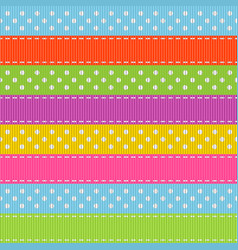 Stripped seamless pattern vector