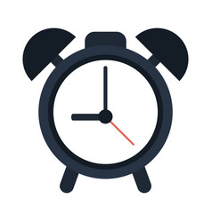 alarm clock icon image vector image