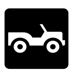 Car Sign vector image