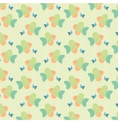 Colour fish pattern vector