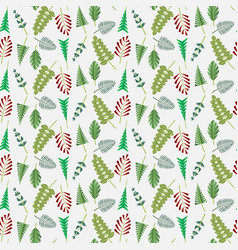 floral pattern flowers vector image