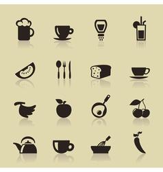 Food9 vector image vector image