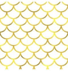 Gold glittering foil seamless pattern vector