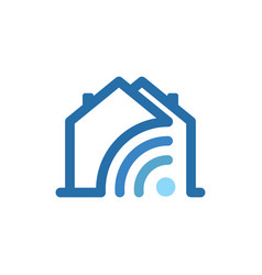 housing link vector image