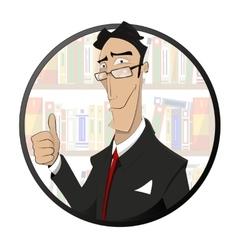 Lawyer attorney jurist logo design vector