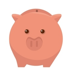Piggy moneybox cartoon vector