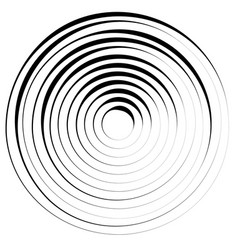 radial lines with rotating distortion abstract vector image