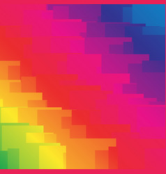 Random shapes with spectrum gradient fills graphic vector