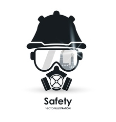 Safety equipment design vector
