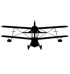 Vickers-armstrong sea otter i and ii front vector