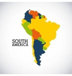 south america design vector image vector image