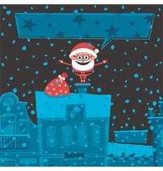 Christmas Card 6 vector image