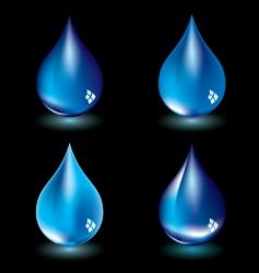 water droplet vector image vector image