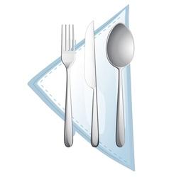 A cutlery vector