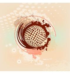 abstract blot vector image vector image