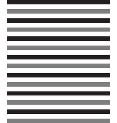 blackwhite and grey horizontal stripe vector image