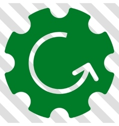 Gear Rotation Icon vector